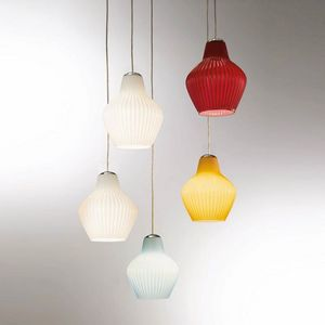 London Ls602-025, Suspension lamp in colored glass