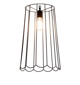 Lucilla SE650VN, Rust-colored iron suspension lamp