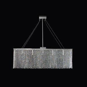 Matrix SS4000R-80x14x25-N1, Luminous rectangular suspension lamp