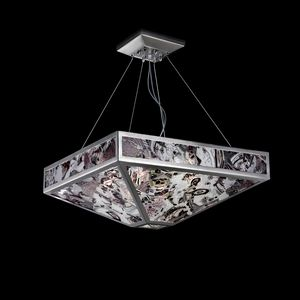 Mystique SS7800-1DN1, Suspension lamp in variegated glass
