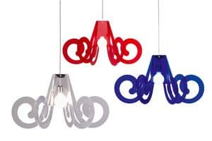 Picture of RICCIOLO - RICCIOLINO suspension lamp, suspended lamp