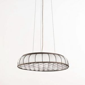 Soffice Ms441-010, Pendant lamp in white blown glass