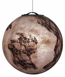 Ulul� Ulul� SE648, Round suspension lamp, with lace inserts