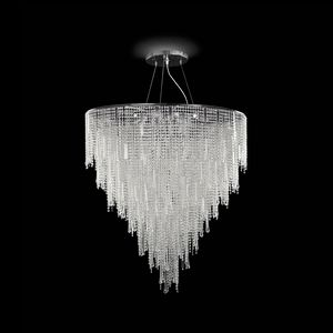 Vanity SS7660-90�125-CN, Suspension lamp decorated with cut crystal