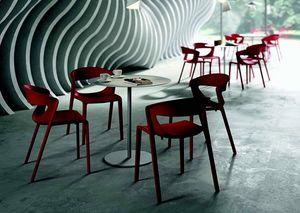 3058 Kikka one, Fiberglass reinforced polypropylene chair
