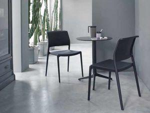 Ara, Stackable chair, made in polypropylene