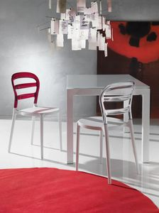 Art. 07 Deja v�, Plastic chair, for kitchen and outdoors