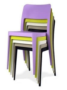 Picture of Nen�, plastic chairs for indoors or outdoors