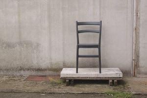 Norma, Stackable outdoor chair, in polypropylene