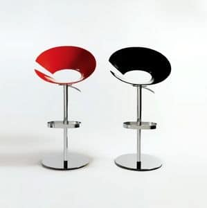 Picture of Diva stool, barstool with plastic seat