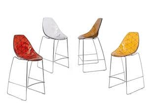 Picture of Glamour Barstool, barstools with plastic seat