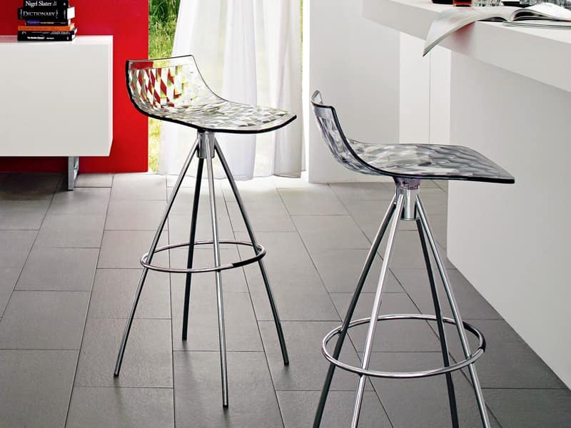 Picture of ICE CS/1050, barstools with plastic seat