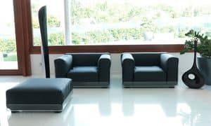 Picture of Asami Indoor pouf, versatile seat
