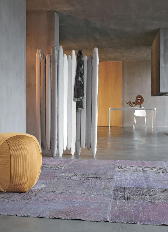 GOMITOLO by Tonin Casa Srl - pouf, padded pouf, upholstered pouf