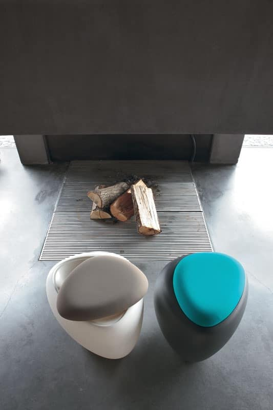 IOS pouf by Tonin Casa Srl - pouf, pouf with cushion, poufs