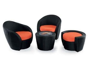 Picture of LOTUS LOUNGE 526 stool, footrest or pouf