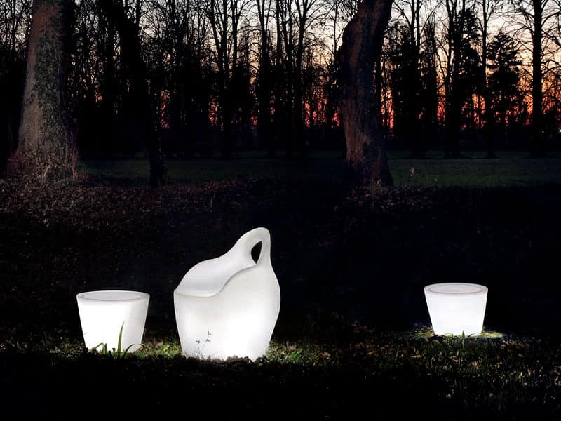 Omnia notte by Domitalia Spa - Garden small table, Modern seat ...