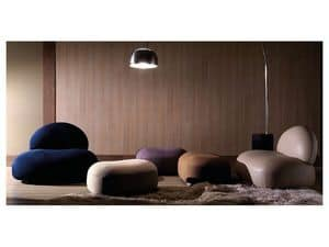 Picture of Scoop pouf, low seats