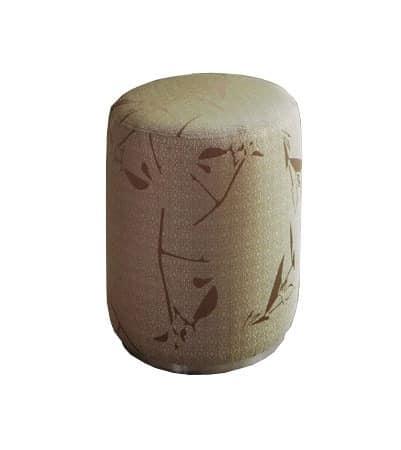 souffle footrest or pouf beauty salon idfdesign. Black Bedroom Furniture Sets. Home Design Ideas