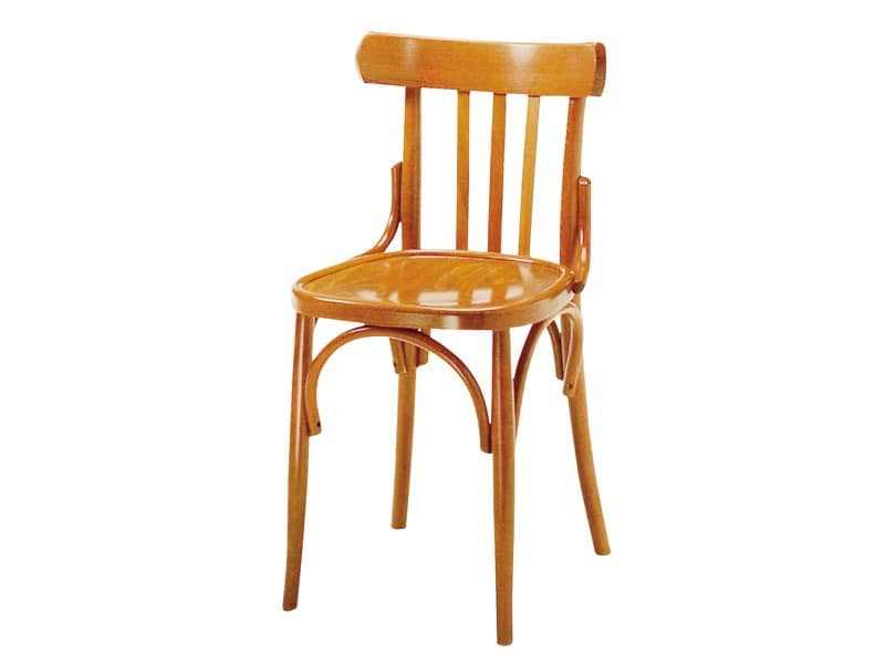 093, Wooden chair for bars and pubs, antique style