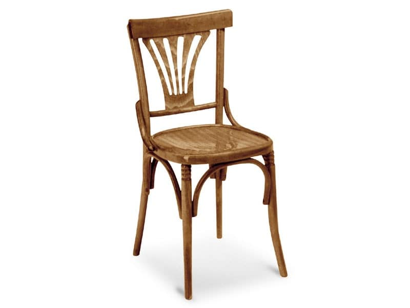 720, Chair in wrought wood for bars and pubs