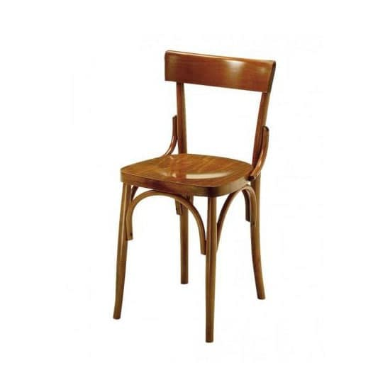 Milano, Chair in wood bent by steam, for bars and taverns