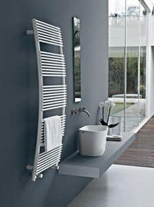 Parentesis, Towel warmer with arched shape, for the bathroom