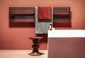 Ritmato, Towel radiator, made of tubular steel