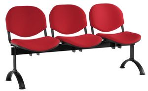 Conferenza bench, Seat on bram for waiting areas, in various versions