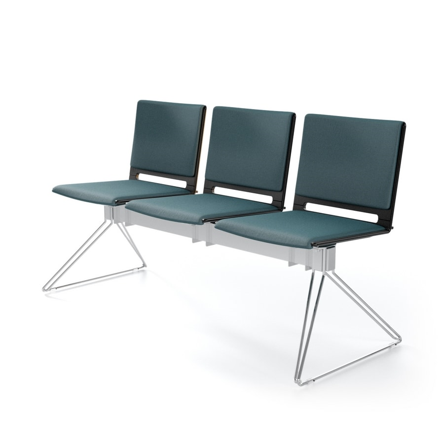 Modular Bench Lightweight Design For Waiting Rooms Idfdesign