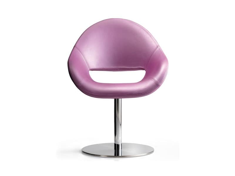 Palm SW, Comfortable padded armchair, very decorative, for waiting areas and office