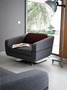 Picture of Dune armchair, armchairs in leather or fabric