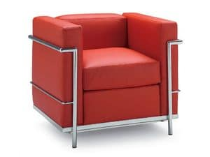 Picture of PL GIOVE 1P, armchairs with modern lines
