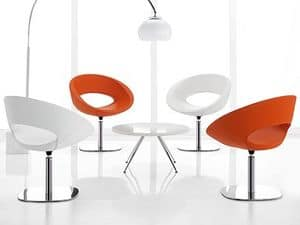 Picture of Smile > revolving version with flat base, original armchairs