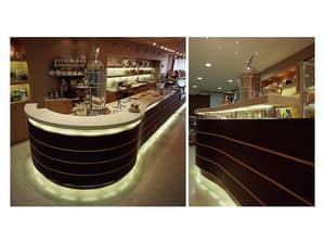 Picture of Ai Portici bar counter, modern counter
