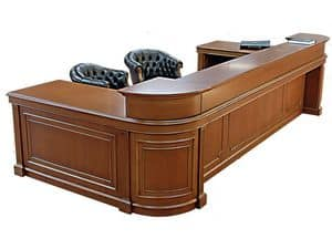 Picture of Reception Oxford , desk in wood