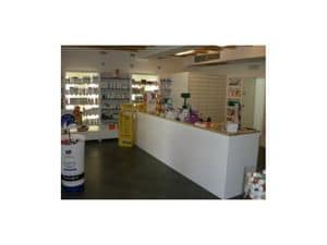 Picture of Shop - Pharmacy, made-on-measure restaurant furnishing