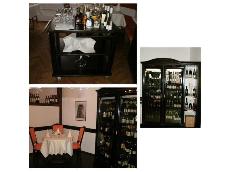 Wine Bar Counter Linear Counter Pub IDFdesign