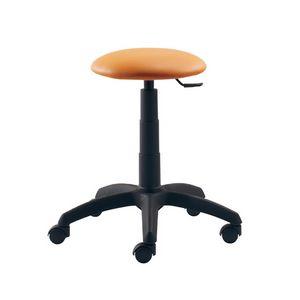Jurcek 401, Round stool on castors, adjustable in height