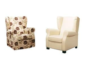 Picture of Harley, decorated wood armchairs