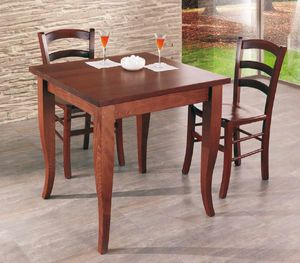 Cral, Wooden table for restaurant