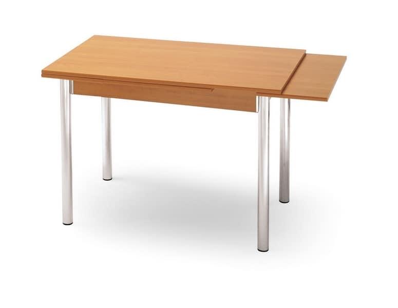 Parigi 70x110, Extendable table for kitchen