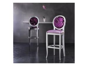 Picture of ADELAIDE barstool 8030B, barstools with classic lines
