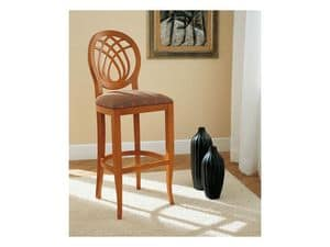 Picture of GIORGIA barstool 8028B, decorated barstool