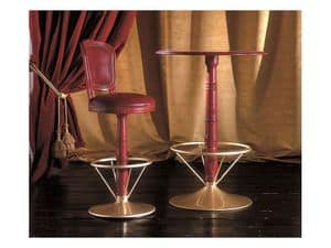 Picture of INES barstool 8530B, barstools with classic lines