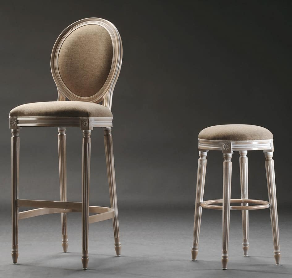 Classic Style Barstool Naval Furniture Idfdesign