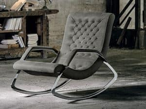 EDERA, Rocking armchair quilted
