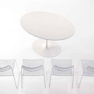 Picture of BLUES, rounded dining tables