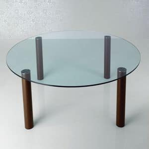 Picture of Fagus round table 40.0023, rounded dining table