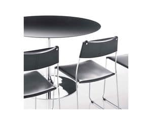 Picture of POP B 70, table with rounded top